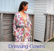 printed dressing gowns