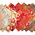 Hand block printed scarves